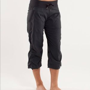 Lululemon Studio Crop Pant Black Size 4